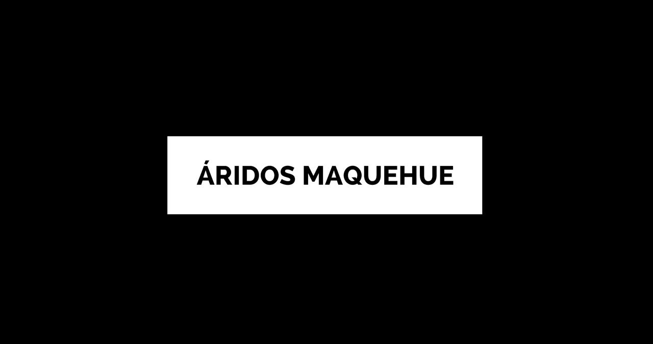 Maquehue banner áridos | Empresas Maquehue